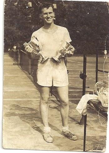 Grandpa Smith.  Tennis Star!!!