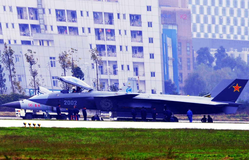Fuerzas Armadas de la República Popular China - Página 2 Chinese+J-20+Mighty+Dragon++20023+Chengdu+J-20+fifth+generation+stealth%252C2002+AESA+RADAR+third+fighter+aircraft+prototype+People%2527s+Liberation+Army+Air+Force++OPERATIONAL+weapons+aam+bvr+missile+ls+pgm+gps+flag+%25284%2529
