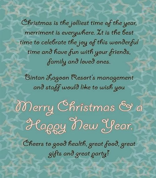 Meaning Christmas Greetings For Business With Message 2013