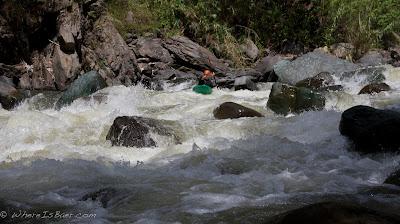Jared Page enjoying Rio Guabo, Chris Baer, colombia