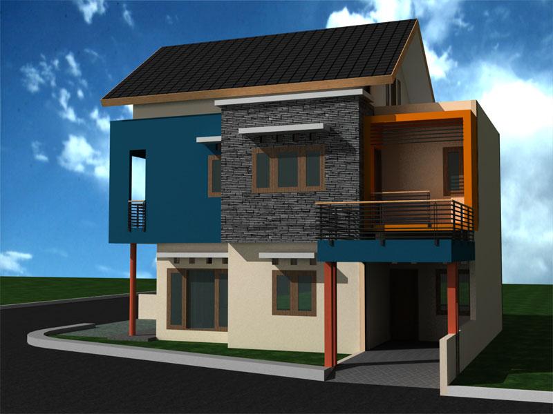 Inspirasi untuk Model Rumah Minimalis Type 54 2015 yg elegan