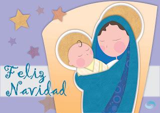 Feliz Navidad, María y Jesús