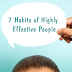 7 Kebiasaan yang Efektif