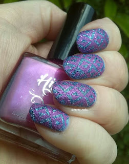 Fab Ur Nails FUN 17 and Hit the Bottle Magenta at Your Own Risk
