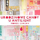 Urodzinowe candy u antilight do 23.04.