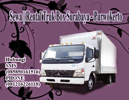 Sewa | Rental Truk Box Surabaya - Purwokerto