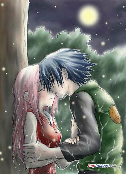 best anime wallpaper romantic moments kiss hug and sitting together
