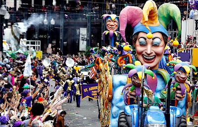 Nueva Orleans carnaval luisiana estados unidos