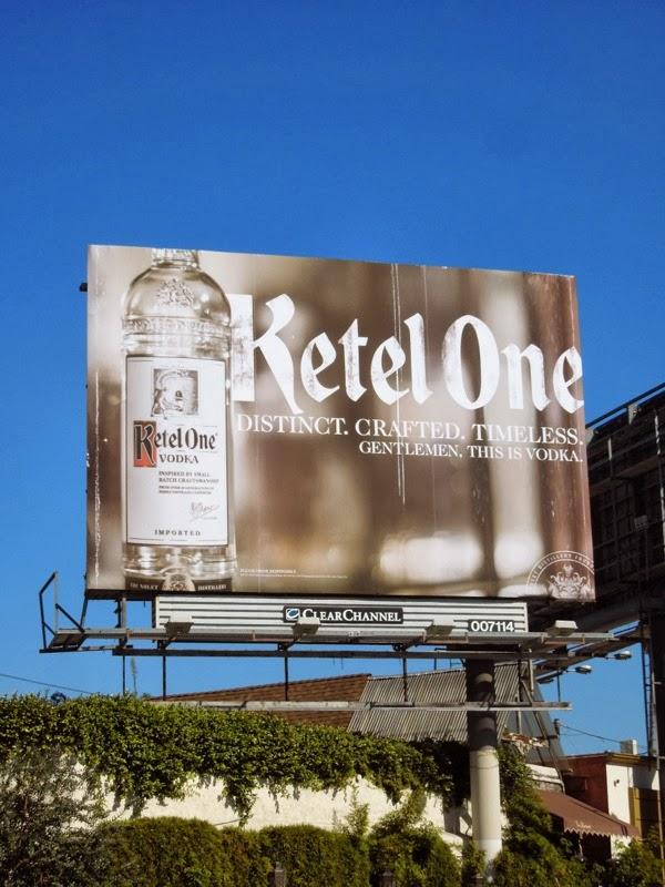 Ketel One Vodka billboard