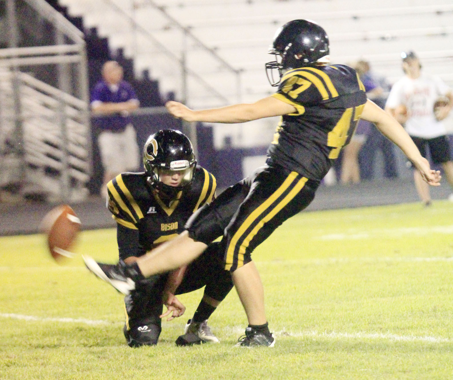 Lonoke County Sports Report: Bison coach says team must work on tackling following scrimmage