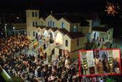 Η Λαμπροφόρος ημέρα της Αναστάσεως εις τον Ι.Ν. του Αγίου Αντωνίου στα Κρύα Ιτεών των Πατρών (φωτο)