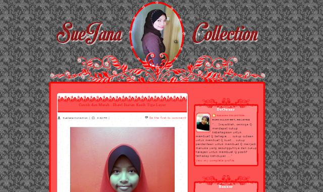 Edit Blog Suejana Collection