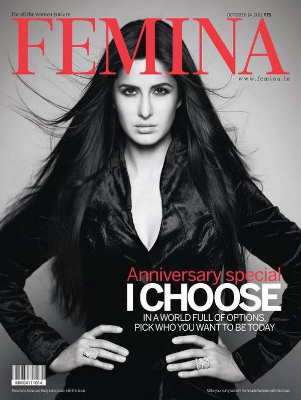 Katrina Kaif-Femina India Magazine October 2011