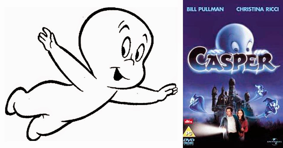 Christina Ricci, Casper, Series llevadas al cine