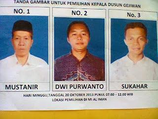 Demokrasi Ala Dusun Gejiwan