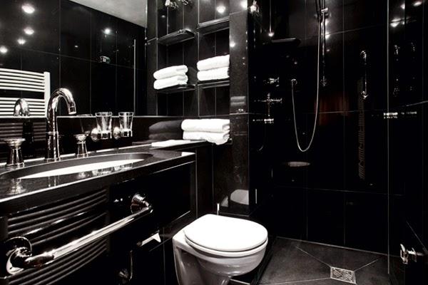 Fotos de ba os en blanco y negro colores en casa for Banos en blanco y negro