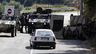 la proxima guerra kosovo frontera serbia kfor barricadas