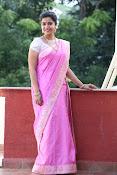 Swathi Dazzling in Pink saree-thumbnail-16