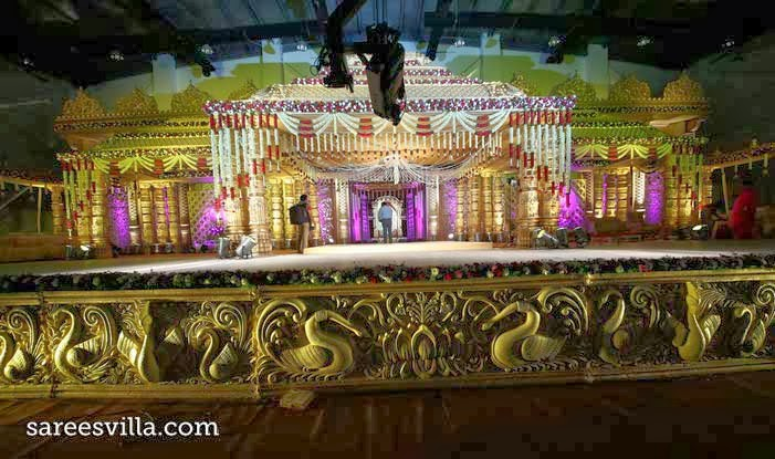 Surya CMD Daughter Tejaswini Wedding stage