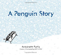 bookcover of A PENGUIN STORY by Antoinette Portis