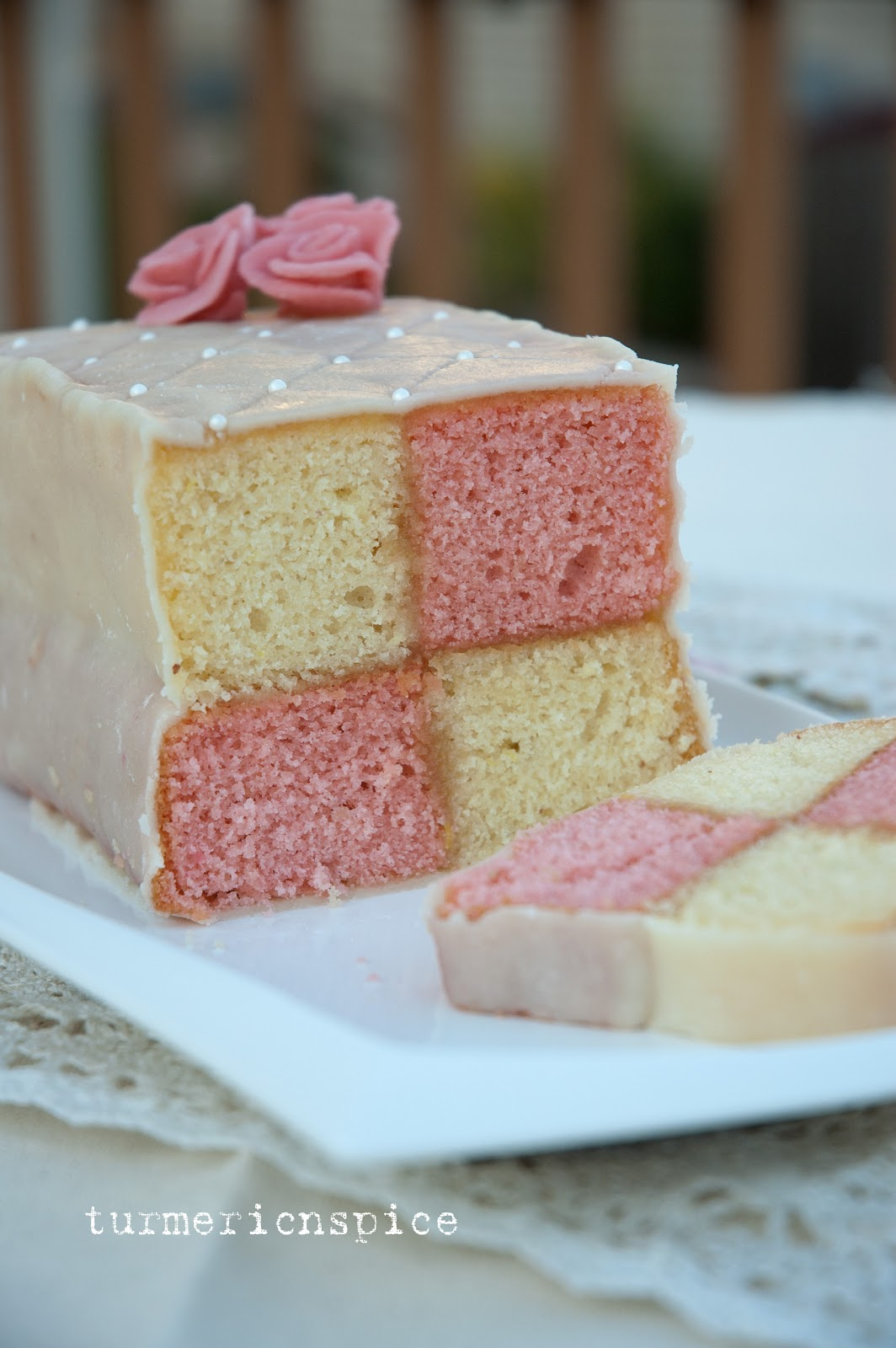 Images Battenburg Cake
