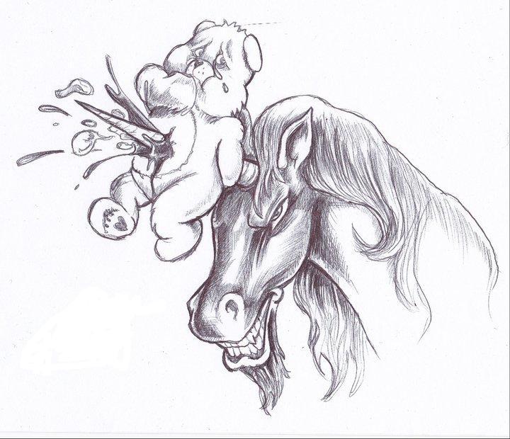 realistic unicorn tattoo - 720×620