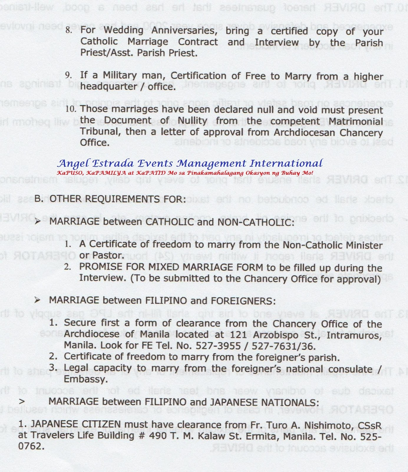 Your Complete Guide To Getting Married In The Philippines Catholic