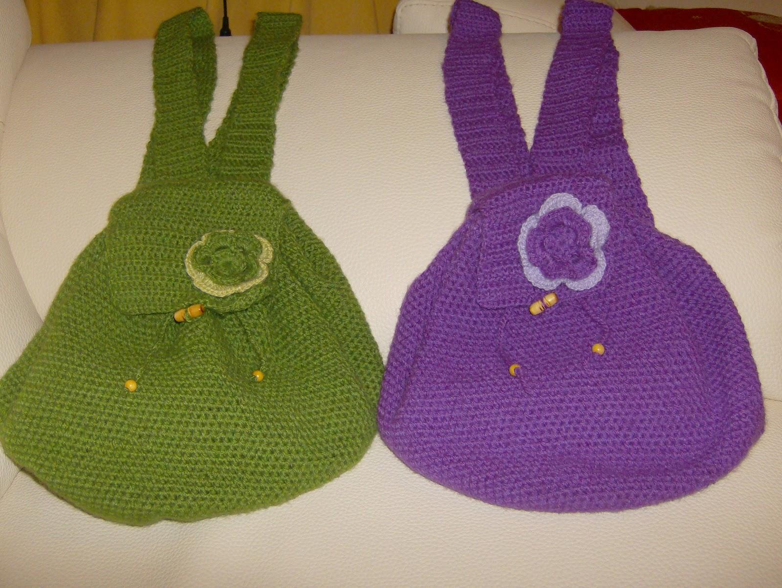 mis modelos de mochilas a crochet de diferentes colores precio de