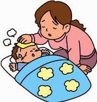 tips mengatasi demam pada anak