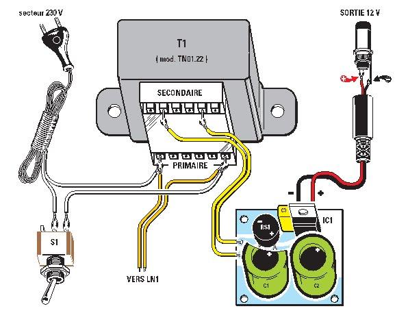 Sch ma d implantation des composants du th r min - Schema d implantation electrique ...