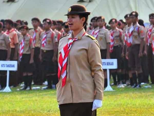 Topi Pramuka Putri
