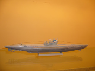 scale model submarine u-boot VII-C