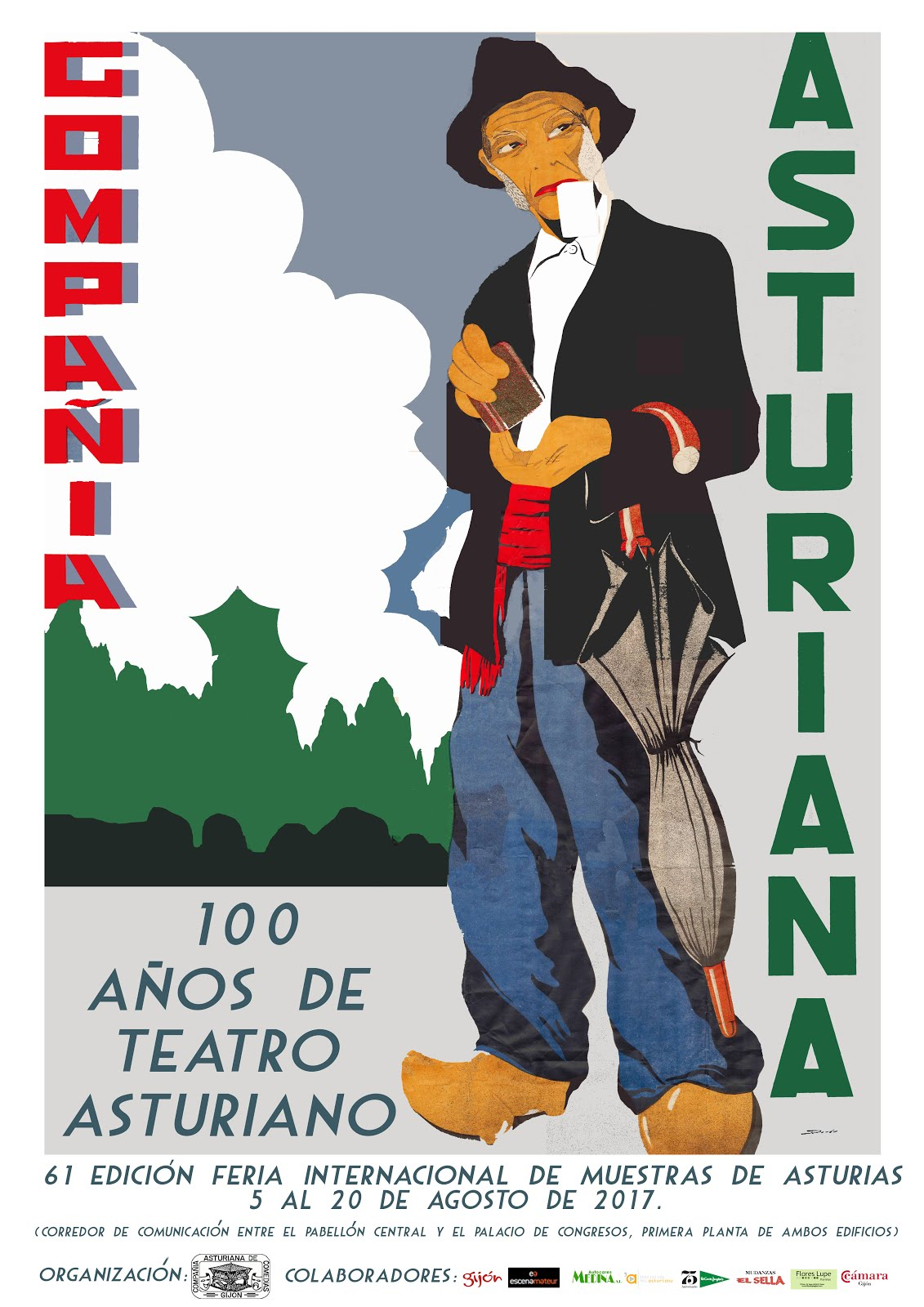 EXPOSICIÓN: COMPAÑÍA ASTURIANA: 100 AÑOS DE TEATRO ASTURIANO EN FIDMA2017