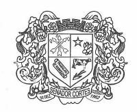Brasão de Senador Cortes - MG