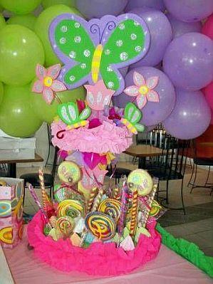 Fiestas infantiles decoraci n mariposas for Decoracion con globos precios