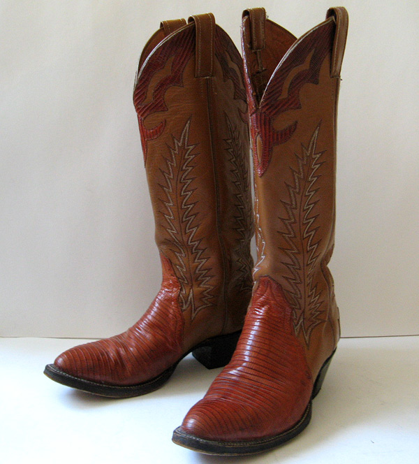 closet lizard cowboy boots womens leather cowboy