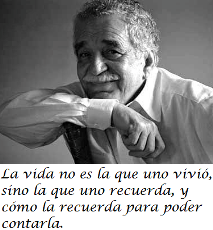Tell it, Gabo…