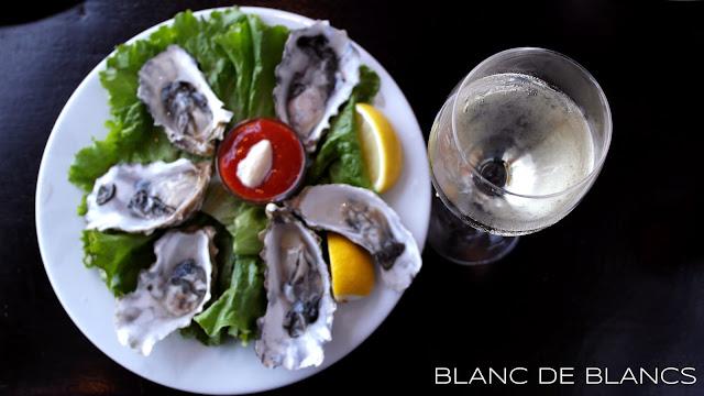 San Fransisco oysters - www.blancdeblancs.fi