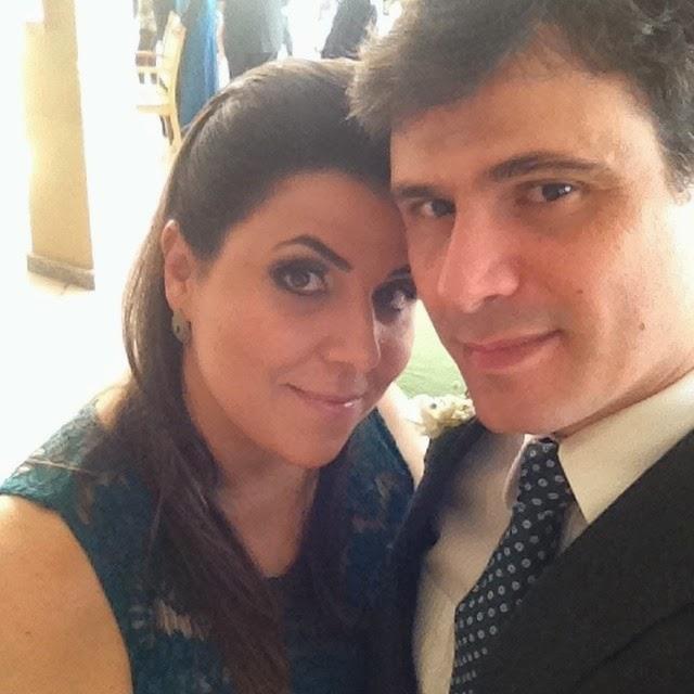 Minha linda esposa Joana...