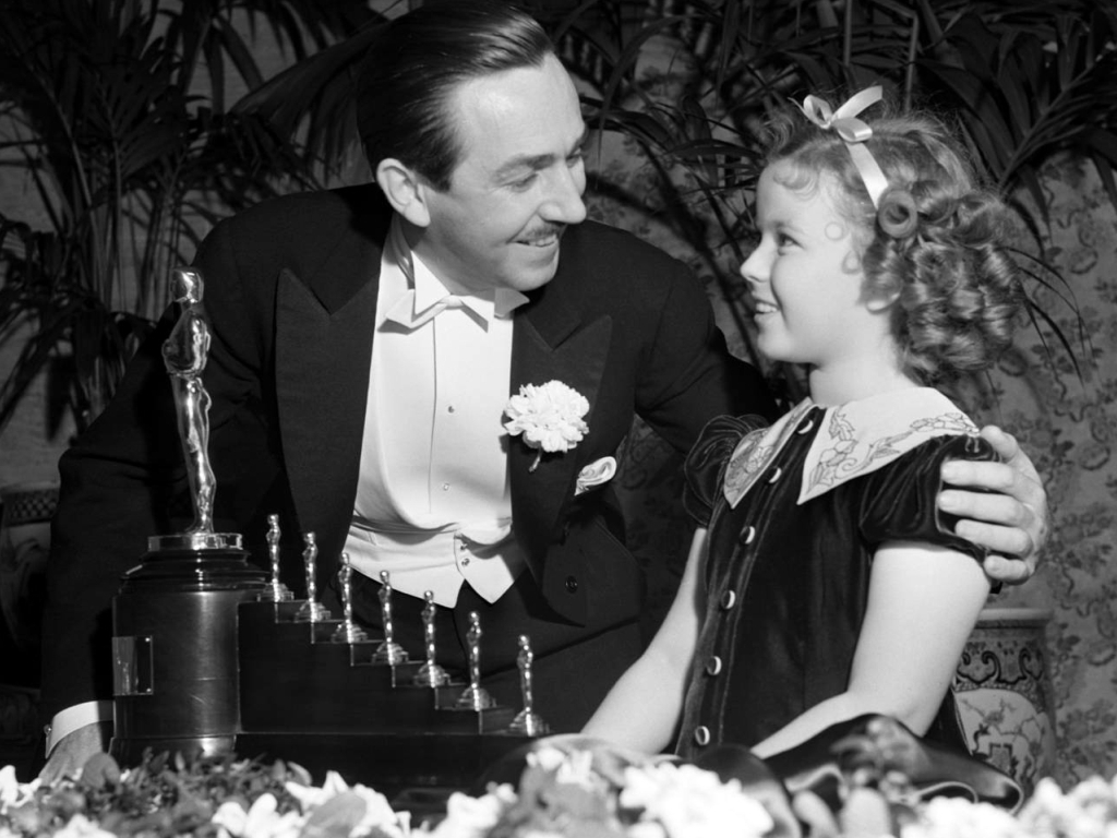 Shirley Temple awards walt disney