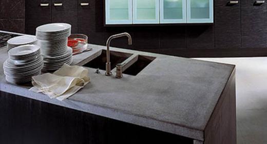 La casa rosso papavero cucina materiali ecologici per ambienti eco sostenibili - Piani cucina materiali ...
