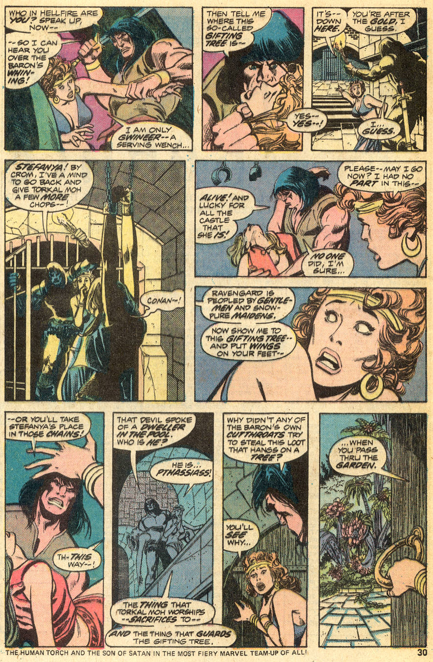Conan the Barbarian (1970) Issue #49 #61 - English 17
