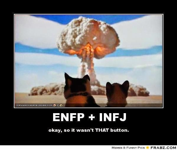 """enfp and estp dating Tips for dating an estp personality one of the most notorious problems with estp relationships is that the """"doer"""" can easily become bored boredom will eventually lead this person to sniff around for a more exciting companion and then end the relationship."""