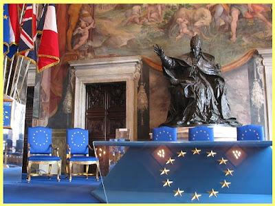 La Constitución Europea fue firmada en Roma