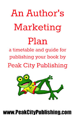 An Author's Marketing Plan, from start to finish, help to get your book published and sold! Peak City Publishing, Raleigh North Carolina
