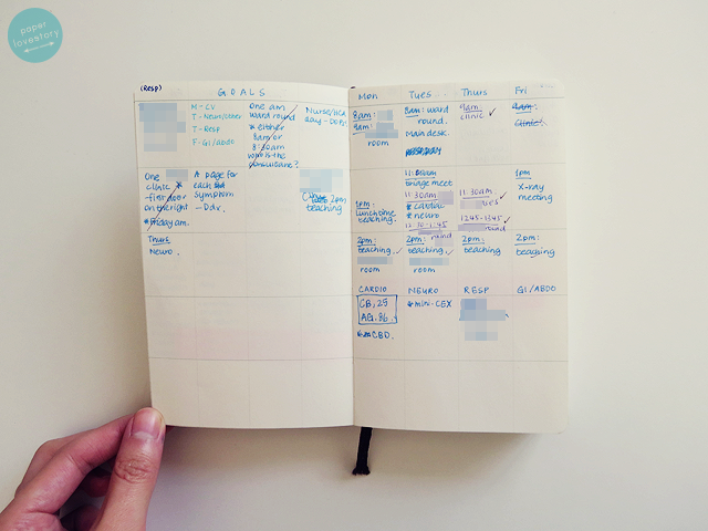 paper lovestory a lifestyle blog from a university student about  the rest of the notebook is pretty much for rough scribbles and is used when i practice clerking a patient clerking a patient involves asking pretty much