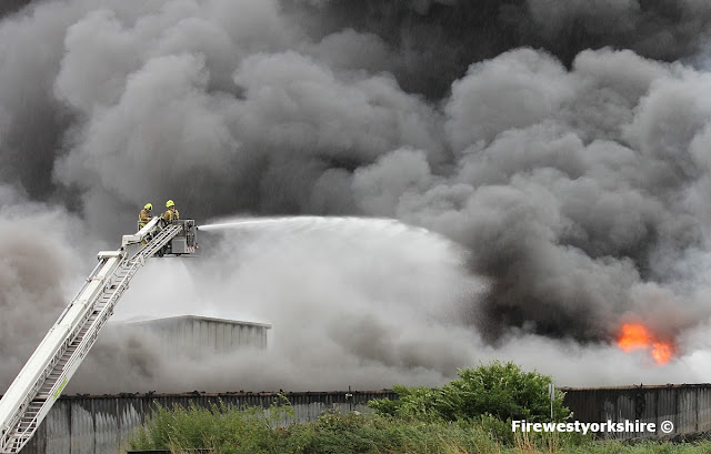 Aerial appliance with Monitor in use