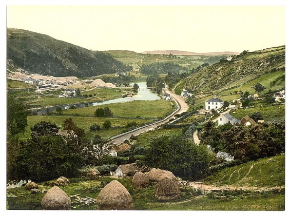 Color Vintage Pictures Of Ireland From 1890 1900 Vintage