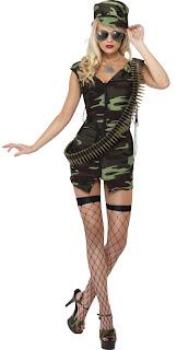 Disfraces de Halloween para Mujer, Policias y Militares, parte 1