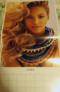 Beyonce Knowles 2014 Official Calendar
